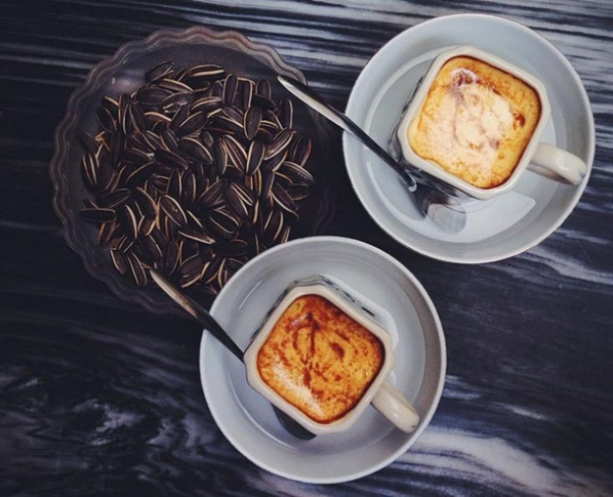 Кофе с яйцомы с фото